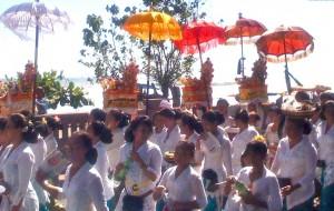 Balinese Women Balinese Umbrellas