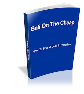 Bali On The Cheap