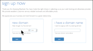 How to start a blog bluehost choosing plan