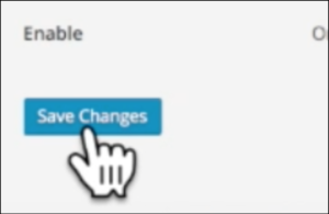 wordpress blogging how to save changes