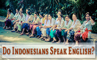 do Indonesians speak English