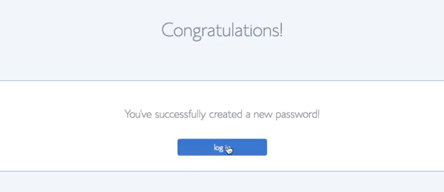 Start a blog Bluehost password create login